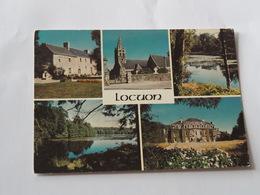 LOCUON En PLOERDUT - 56 - Manoir De Kerfandol - Etang De Launay - Château- Eglise. - France