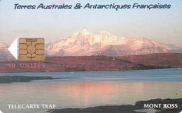 TAAF, TAF-30, Le Mont Ross, 2 Scans. - TAAF - Terres Australes Antarctiques Françaises