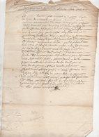 Normandie Acquigny 1692 - Manuscripts