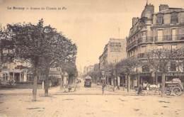 93 - LE RAINCY Avenue Du Chemin De Fer ( Belle PUB Murale FELIX POTIN - Agence Banque SOCIETE GENERALE - Seine St Denis - Le Raincy
