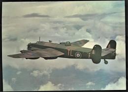 4 . HANDLEY PAGE HALIFAX  BII SERIES I    AFTER THE BATTLE POSTCARD SERIES No 2 - 1939-1945: 2ème Guerre