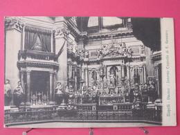 Visuel Pas Très Courant - Ilalie - Napoli - Duomo - Interno Cappella Di S. Gennaro - CPA Très Bon état - Recto Verso - Napoli