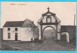 LOBBES- La Portelette ( Voir Verso, Spécial , Carte Spécimens Du Fabricant ) - 2 Scans - Lobbes