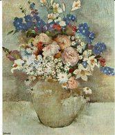 """Reproduction Sur Papier Tableau De Genez """" Bouquet De Fleurs """" - Autres Collections"""