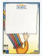 C.P °_ Collection La Poste-Faites De La Musique-21 Juin 1992- ° NEUVE - Post