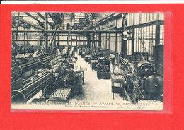 42 SAINT ETIENNE Manufacture Arme Et Cycle Cpa Animée Atelier Machines Auomatiques  Mod 67 - Saint Etienne
