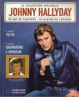 """LIVRE + CD  Johnny Hallyday  """"  Derrière L'amour  """" - Non Classés"""