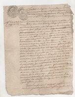 Touraine Vouvray 1793 - Manuscripts
