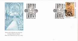 35751. Carta Exposicion RIPOLL (Gerona) 1997. Retorn ESTENDARD, Basilica Santa Maria Ripoll - 1931-Hoy: 2ª República - ... Juan Carlos I