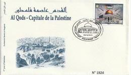 Maroc. Enveloppe 1er Jour Avec Timbre  2019. Al Qods - Capitale De La Palestine. - Maroc (1956-...)