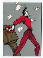 C.P °_ Humour-Lettres D'Amour-Aaah... -2002.6-Zacot-  ° NEUVE - Humor