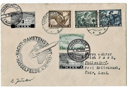 1933, Wagner, Raketenpost! , A3118 - Germany