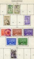 16786 VENEZUELA Collection Vendue Par Page PA 297/8, 301, 304, 305/9, 312°    1950  B/TB - Venezuela