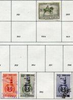 16787 VENEZUELA Collection Vendue Par Page PA 322, 333/4, 336°    1951  B/TB - Venezuela