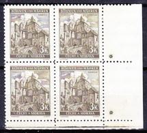 Boheme Et Moravie 1941 Mi 72 (Yv 55), (MNH)** Croix (kreuz), Olive-brun - Bohemia & Moravia