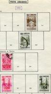 16788 VENEZUELA Collection Vendue Par Page PA 340, 344, 346, 350, 353°    1951  B/TB - Venezuela