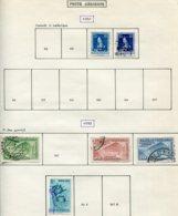 16789 VENEZUELA Collection Vendue Par Page PA 360/1, 361A, 368, 370/1, 380/1, 383, 388°    1951-52  B/TB - Venezuela