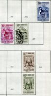 16790 VENEZUELA Collection Vendue Par Page PA 395, 397/8, 403, 407°    1952  B/TB - Venezuela