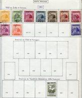 16792 VENEZUELA Collection Vendue Par Page PA 435A/42, 446, 462°    1953  B/TB - Venezuela