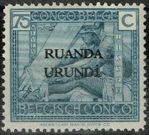 Ruanda-Urundi - 1925 - Y&T N° 69**, Neuf Sans Trace De Charnière - Ruanda-Urundi