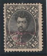 HAWAII 1893 - N° 51 (Yvert) Neuf - 12 C Noir - Hawaï