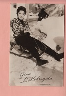 OLD POSTCARD -   FILM - MOVIE STAR - GINA LOLLOBRIGIDA - WINTERSPORT - ED. TAKKEN  3207 - Sonstige