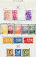 16798 VENEZUELA Collection Vendue Par Page PA 671/2, 674, 675/9, 680/2, 683/5°    1958-60  B/TB - Venezuela