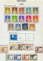 16799 VENEZUELA Collection Vendue Par Page PA 687/700, 701, 704/6, 707/12 °    1960  B/TB - Venezuela