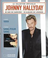 "LIVRE + CD  Johnny Hallyday  ""  Sang Pour Sang  "" - Non Classés"