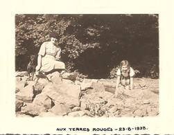 Photo Foto ( 7 X 10 Cm ) Aux Terres Rouges 1938 (regio Liège - Ougrée ??) - Liege