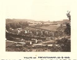 Photo Foto ( 7 X 10 Cm ) Villas En Prevotchamp 1938 (regio Liège - Ougrée ??) - Liege