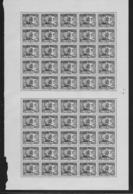 KOUANG-TCHEOU 1937 YT 97** - DEMIE-FEUILLE DE 50 TIMBRES - Neufs