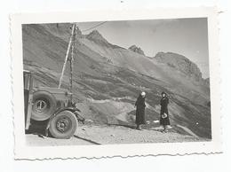 Photographie Col Du Galibier Oisans Route 1932  Photo 6,4x9 Cm Env - Luoghi