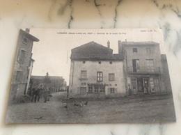 Loudes(Haute-Loire).Alt.836 M.Arrivée De La Route Du Puy. - Loudes