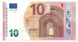 EURO GERMANY 10 XA  DRAGHI X001 UNC - EURO