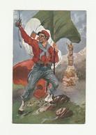 Cartolina Postale Nuova POSTCARD - INNO GARIBALDINO C.A. BLENGINI - MILANO 1915 - Uniformi