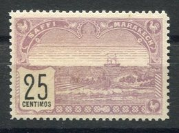 RC 15386 MAROC N° 101 - 25c SAFI A MARRAKECH COTE 80€ NEUF (*) MNG TB - Locals & Carriers