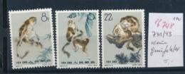 China Nr. 741-43    ( Ef748  ) Siehe Scan - 1949 - ... Volksrepublik
