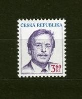 Czech Republic 1995 MNH ** Mi 70 Sc 2948 Prezident  Vaclav Havel. Tschechische Republik - Czech Republic