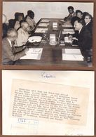 AC - PRESIDENT AYUP KHAN - PAKISTAN & PRESIDENT ABBOUD - SUDAN 13 MAY 1964 KARACHI PHOTOGRAPH - Pakistan