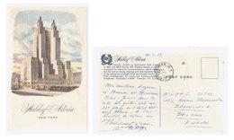 Cpa New York 1959 - Cafés, Hôtels & Restaurants