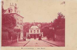 95, Val D'Oise, MONTMORENCY, La Gare, Scan Recto Verso - Montmorency