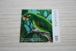 Birds  2013 Grenada Parrots Rare Nominal 50$ - Papageien