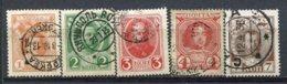 RUSSIE - Yv N° 77 à 80  (o)   1k à 7k  Romanov    Cote  1 Euro  BE  2 Scans - Oblitérés