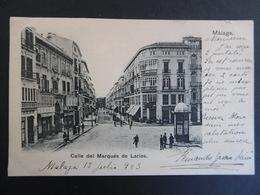 MALAGA  ( ANDALUCIA )  CALLE  Del Marques De LARIOS - Málaga