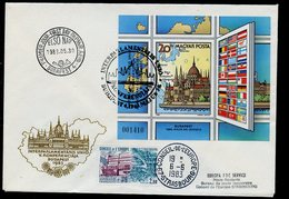 Hongrie - Hungary - Ungarn FDC 1983 Y&T N°BF166a - Michel N°B163B - EUROPA KSZE - Conseil De L'Europe - FDC