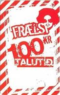 Faroe - Kall Frælsi Talutid, 100Kr. GSM Refill, Exp.08.2008, Used - Faroe Islands