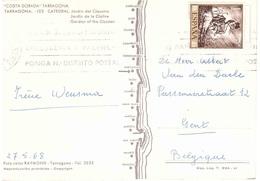 CARTOLINA PER BELGIO - 1961-70 Storia Postale