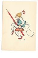 INDONÉSIE - Bateau De La K.P.M. En Route Pour Les Moluques, O.FABRÈS Illustrateur, Sept. 1933.(n°3) - Indonésie
