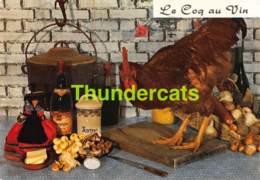 CPSM RECETTE EDITIONS LYNA No 28 COQ AU VIN - Recettes (cuisine)